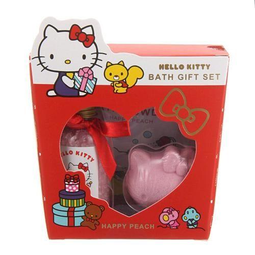 KITTY泡澡沐浴劑肥皂禮盒750617海渡