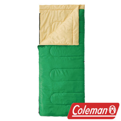 Coleman 表演者II萊姆綠睡袋/C10 睡袋 信封型睡袋 化纖睡袋 可雙拼連接 (舒?