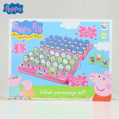 ★衛立兒生活館★【Peppa Pig】粉紅豬小妹 猜謎記憶遊戲組PE36004
