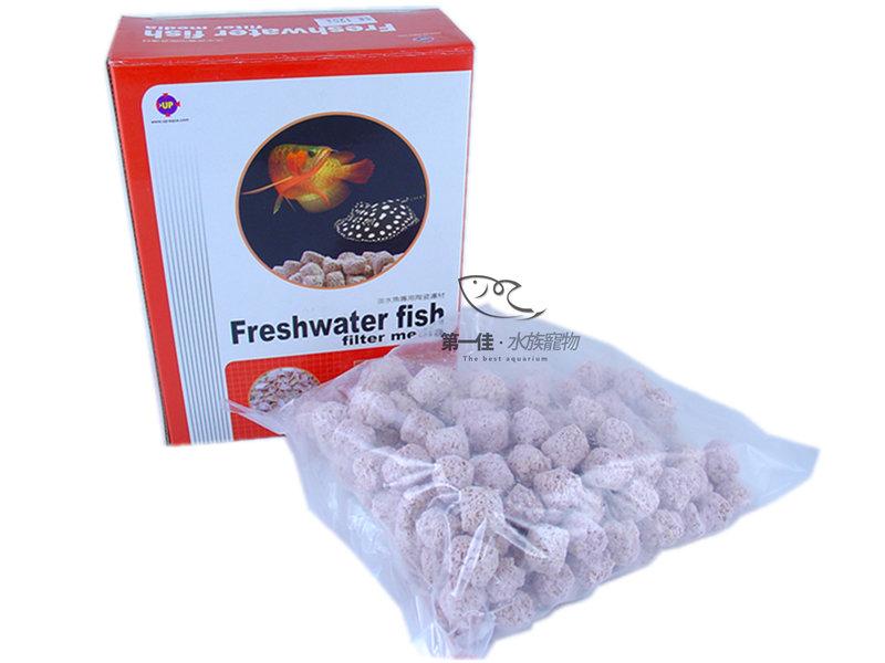 [第一佳水族寵物] 台灣雅柏UP [盒裝 0.5L-S型] (淡水魚專用) 發泡陶瓷濾材