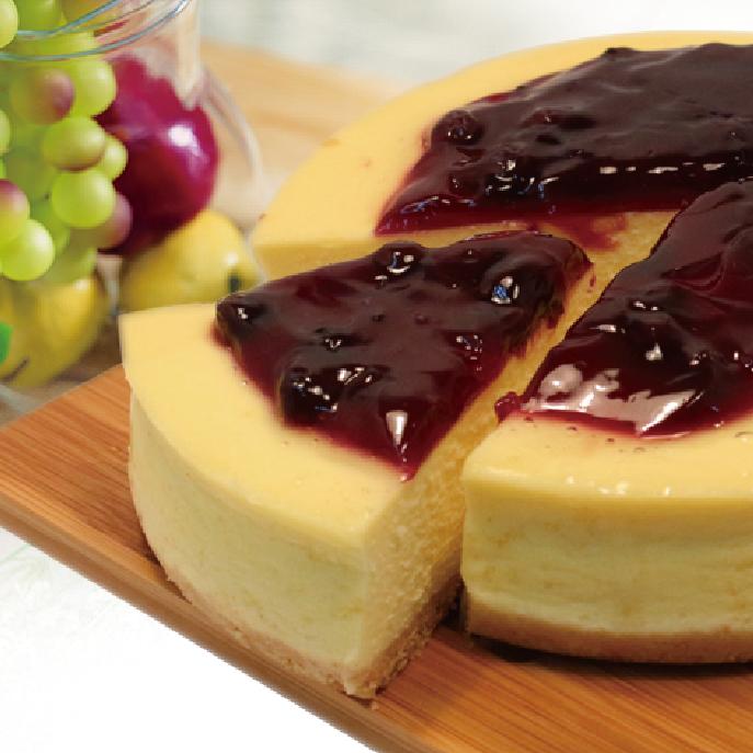 【麵包空間】藍莓重乳酪 (6吋)