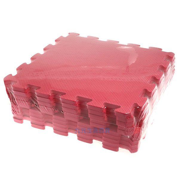 【九元生活百貨】桃紅色彩墊/10入 拼裝地墊 EVA 鋪地 拼板