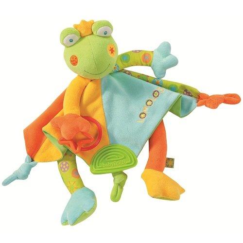 babyFEHN 芬恩 - 繽紛蛙布偶安撫巾