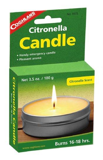 【露營趣】中和 加拿大 COGHLANS 香茅蠟燭 9075