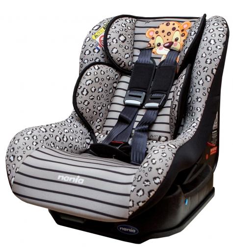 『121婦嬰用品館』納尼亞 安全汽座0~4歲基本款動物系列 - 花豹灰 FB00296