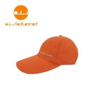 [ WILDLAND 荒野 ] 中性抗UV透氣棒球帽 / 亮橘 / W1013-76-F