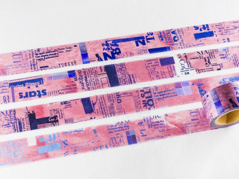 *小徑文化* | 台灣原創 | 日本進口和紙膠帶 小徑 X 夏米花園 8th. 韶光荏苒 系列  - PINK ( MTW-CH083 )