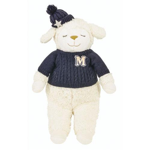 日本代購預購 羊年 睡睡羊 小綿羊 羊咩咩 蓬鬆舒適抱枕玩偶娃娃M號 高50cm 876-565 20