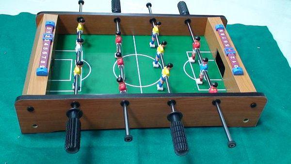 【Playwoods】[桌上型休閒遊戲] 手足球台/手足球:桌上足球-足球台 Table Football/Soccer 含計分器