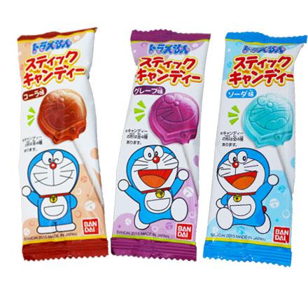 【敵富朗超巿】Tohato東鳩 哆啦A夢造型棒棒糖 9g