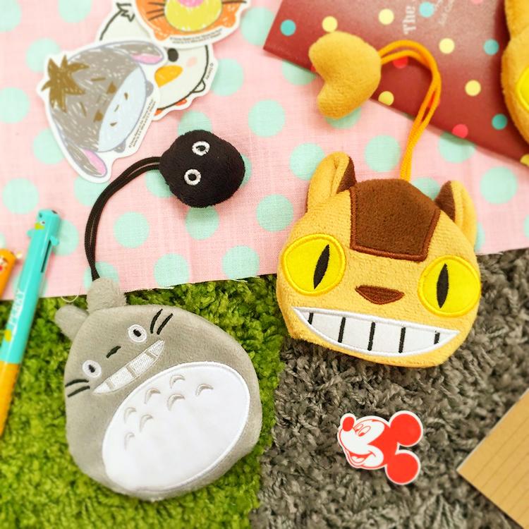 PGS7 日本卡通系列商品 - 龍貓 系列 造型 收納 鑰匙包 となりのトトロ Totoro 吉卜力 宮崎駿