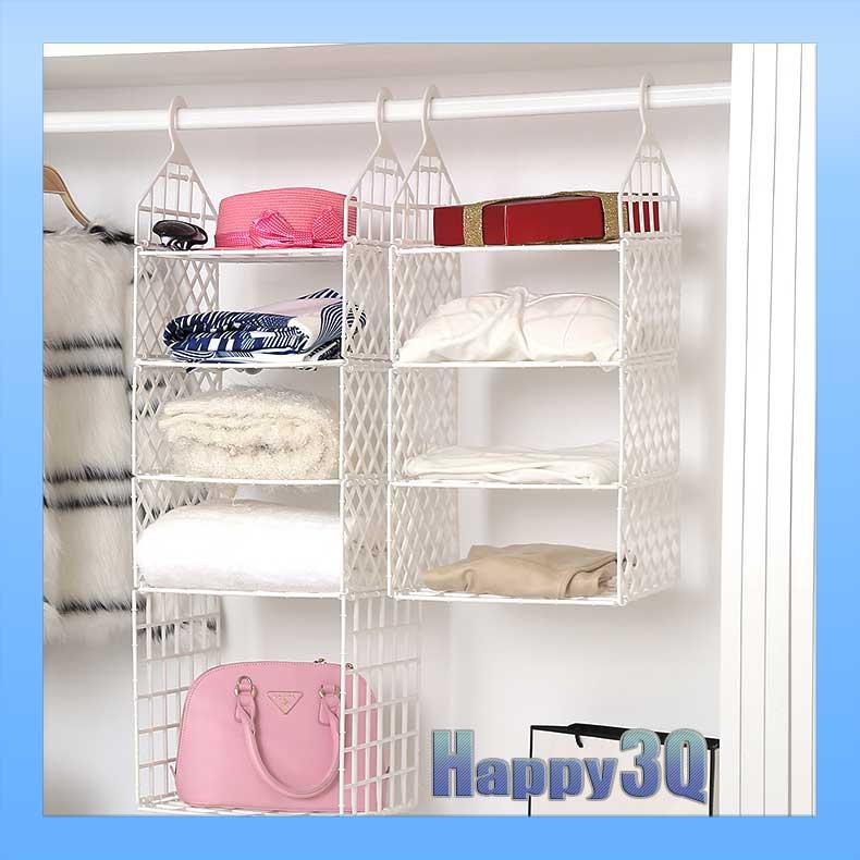 穩固耐用耐重可折疊整齊收納衣櫃超大容量吊掛多層收納架-多款【AAA0773】