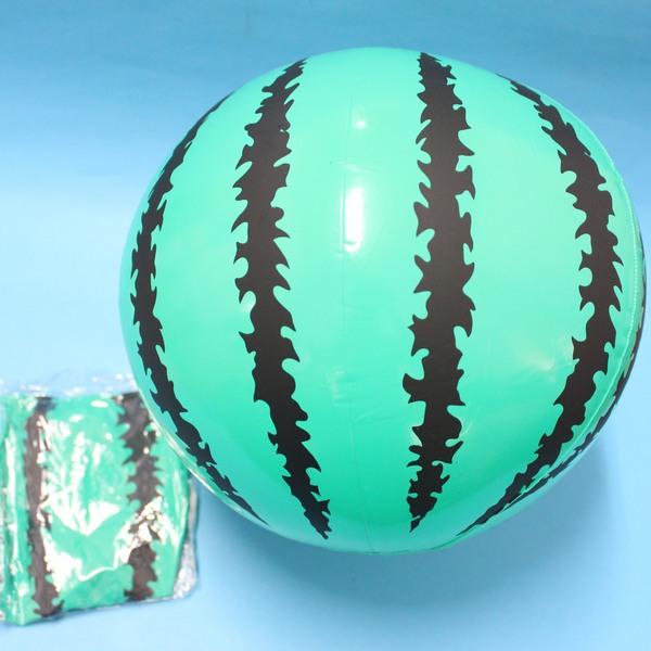 充氣西瓜球 吹氣海灘球 沙灘球 直徑25cm充氣球/一個入{促40}~YF3165 YF5570