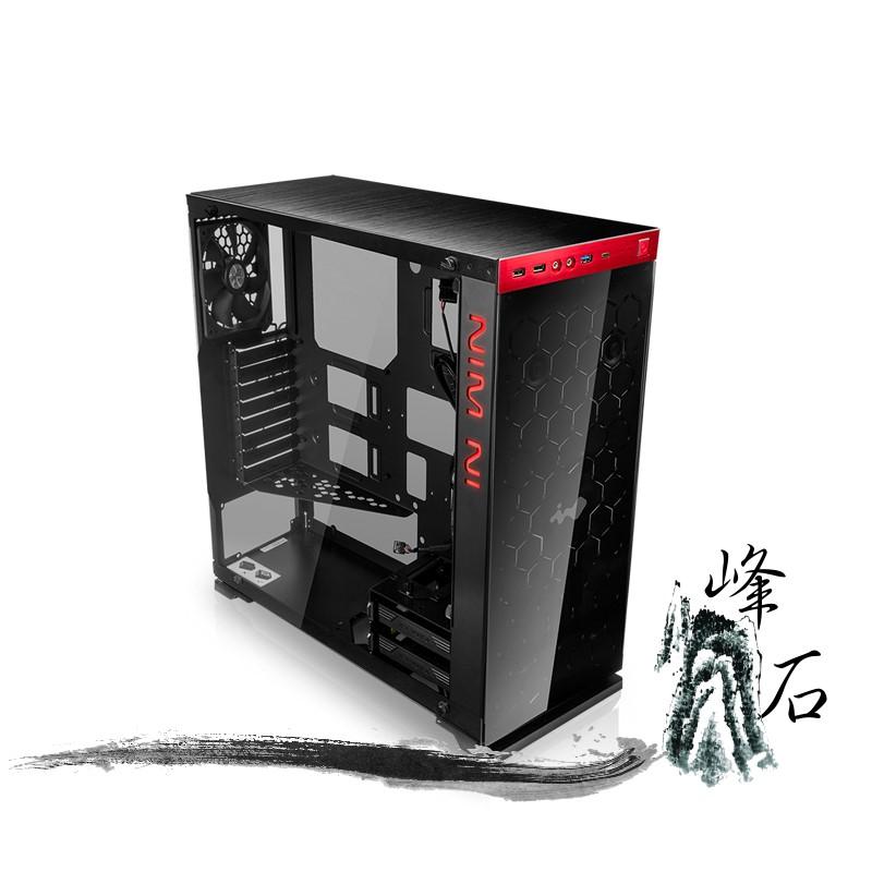 樂天限時優惠! 迎廣 IN WIN 805 豪華版 (USB3.0) 紅色 電腦機殼