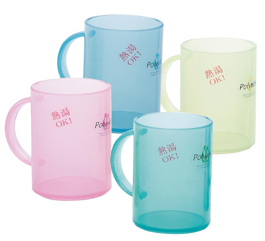 POLYWISE BI-5844 大水晶杯 冷熱飲都適用 牙刷杯 漱口杯 馬克杯