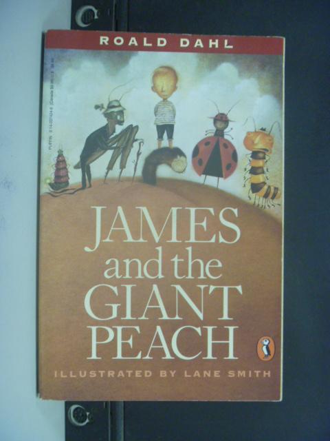 【書寶二手書T2/原文小說_NQL】James and the Giant Peach_Dahl