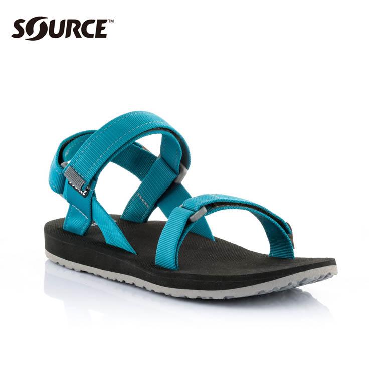 SOURCE 男URBAN織帯涼鞋10109110【海洋藍】 / 城市綠洲(織帶+一體成型+輕量+快乾+抑菌)
