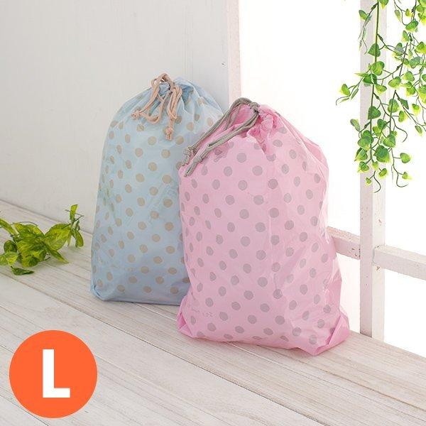 Loxin【SV5077】粉彩束口收納袋(L) 束口袋 防水 分類袋 收納袋 衣物分類 盥洗包 旅行收納袋