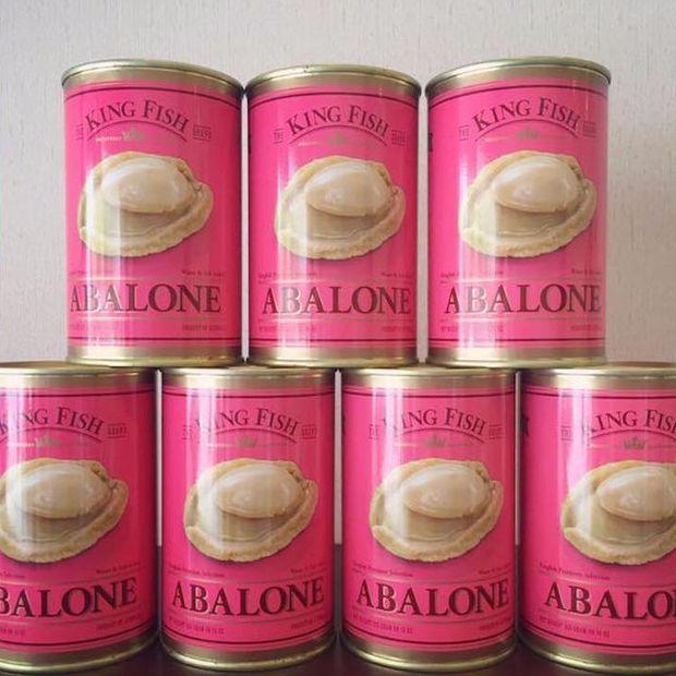 【四季肉舖】澳洲鮑魚 (原裝進口) abalone 罐頭 425g(1.5顆)/罐