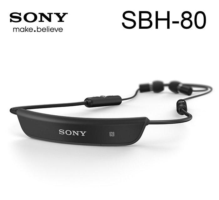 【鐵樂瘋3C 】● 【現貨】ANCASE SONY SBH-80 原廠 頸掛式 立體聲 藍芽 耳機