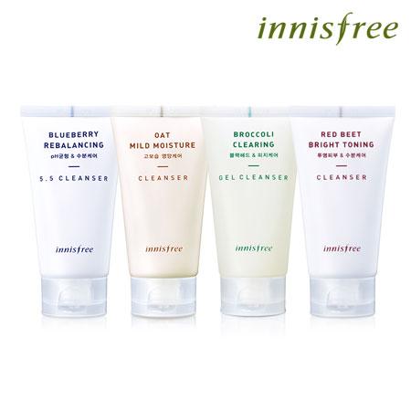 韓國 innisfree 鮮果系列洗面乳 100ml 洗臉 凝膠 潔面乳【B061589】