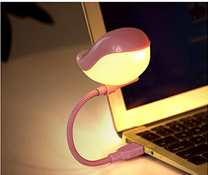 嘰喳歡樂小鳥LED小夜燈-粉紅