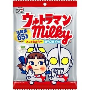 有樂町進口食品 日本進口 不二家 Peko&鹹蛋超人牛奶糖 優格味 73g J68 4902555116501