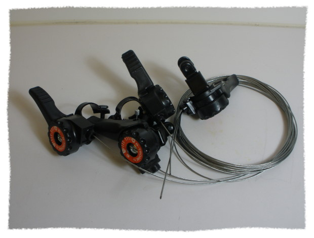 經濟型 非定位式 變速推桿/變速車撥把/控制桿《意生自行車》