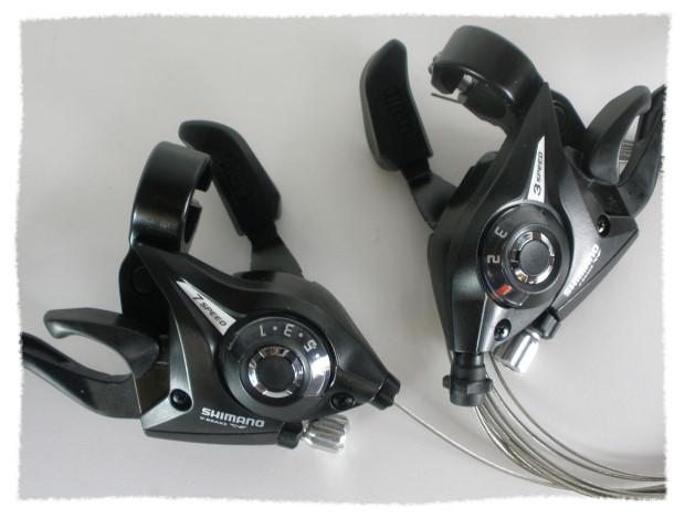 SHIMANO ST-EF51 (ST-EF50)七速 煞車變速合一把手《意生自行車》