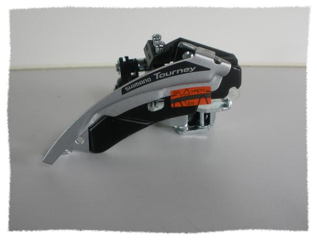 SHIMANO Tourney FD-TX50 中變(前變)速器 上下拉共用 《意生自行車》