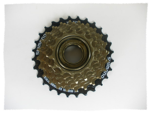 SHIMANO 七速鎖牙式 / 定位飛輪 / 14-28T《意生自行車》