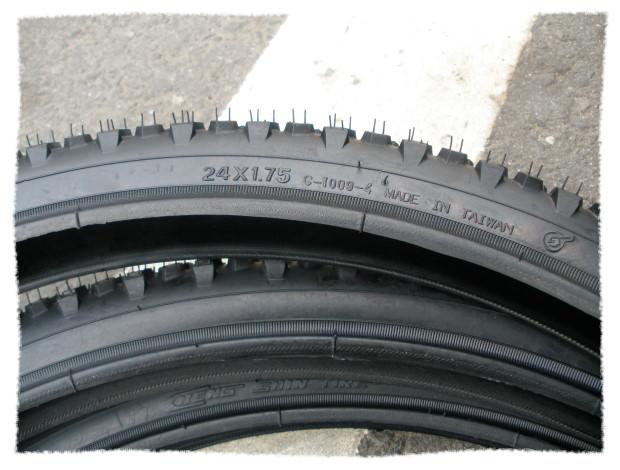 正新輪胎24 x 1.75 粗紋《意生自行車》