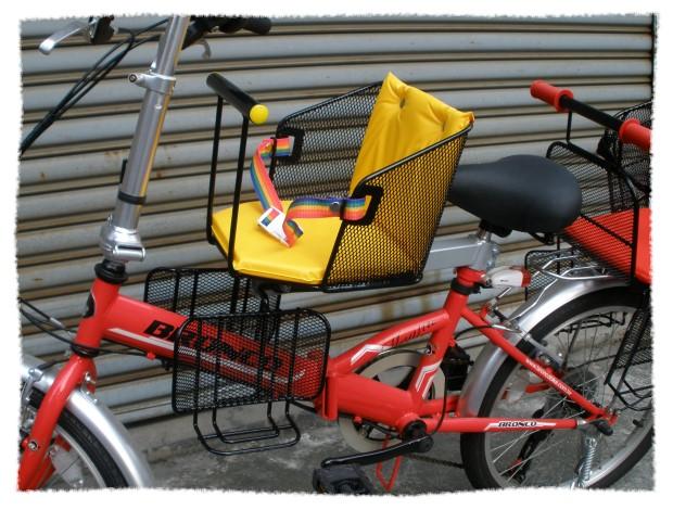 前後2用腳踏車兒童安全座椅 親子.淑女.折疊車都可裝《意生自行車》