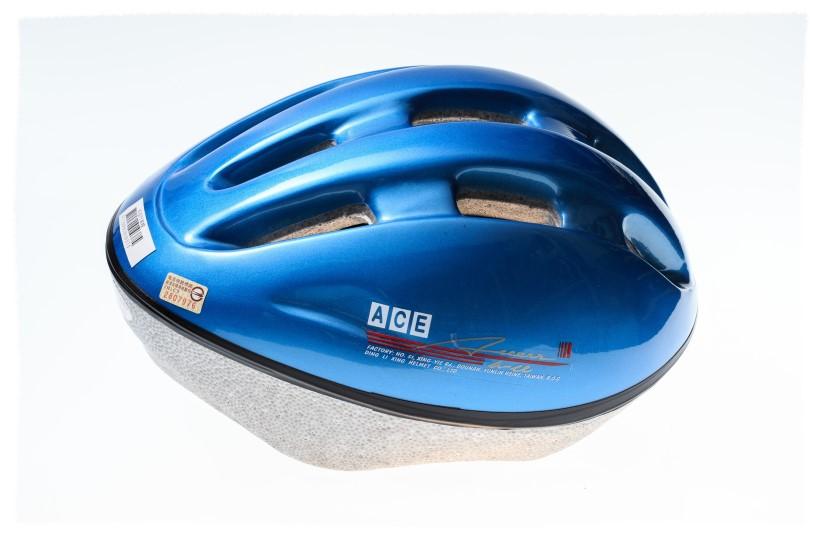 ACE 安全帽 藍色 L號《意生自行車》