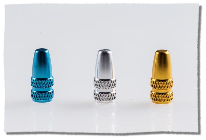 鋁合金 法式 氣嘴蓋 藍色《意生自行車》