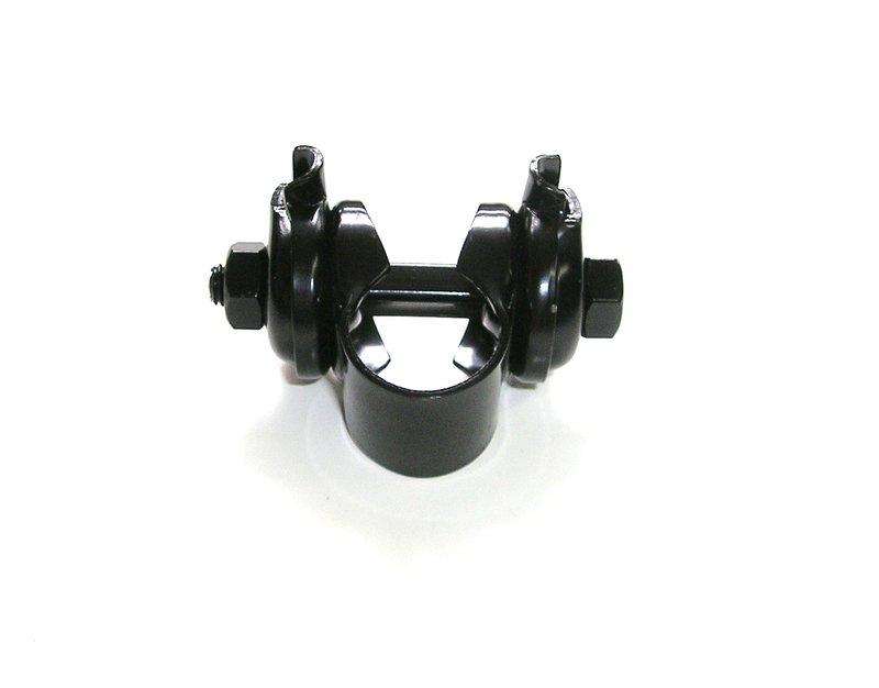 【意生】傳統座管座墊轉接座 黑色鐵製座管頭