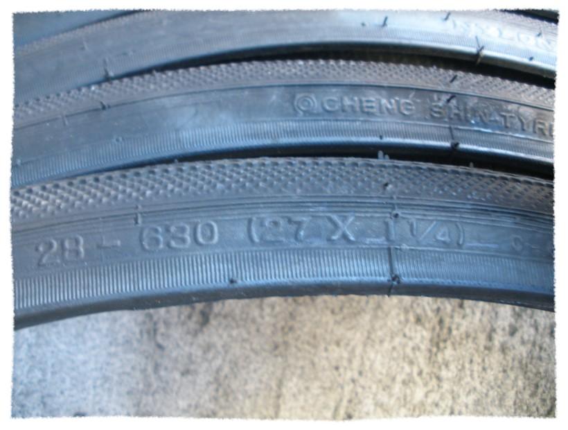 正新 27X1 1/4 黑邊外胎《意生自行車》