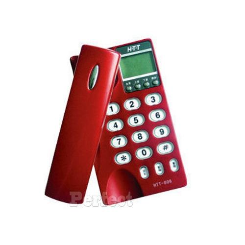 【新幹線】來電顯示桌壁兩用電話 HTT-806 **免運費**