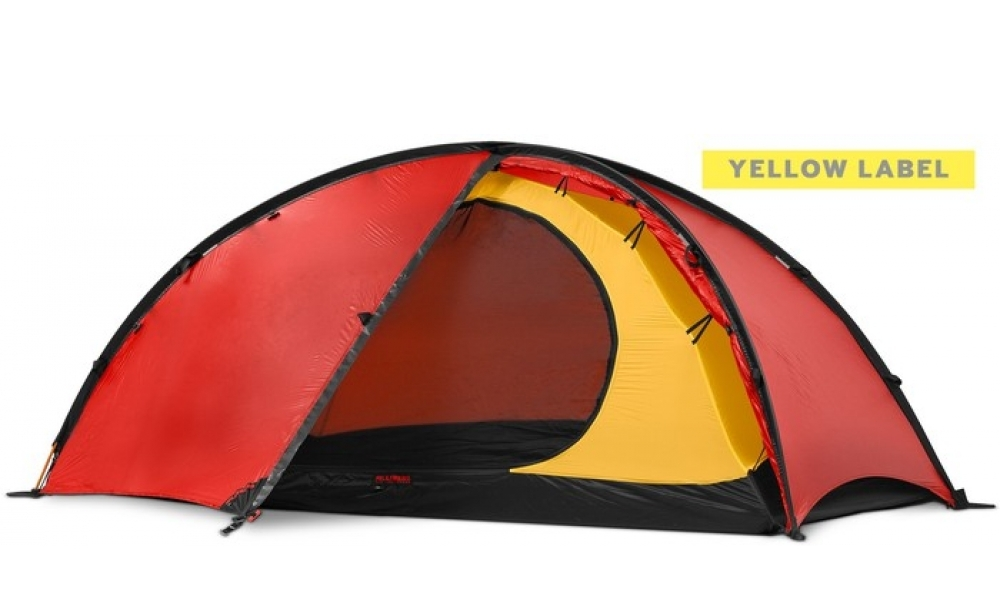 Hilleberg 登山帳篷/ 黃標 NIAK 尼亞客 輕量二人帳篷 紅