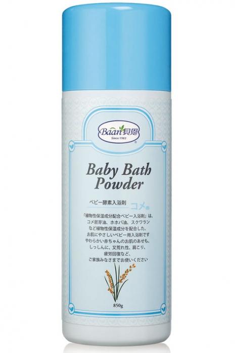 『121婦嬰用品館』貝恩  嬰兒酵素入浴劑850g- 米胚芽