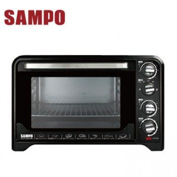 ◤A級福利出清品‧限量搶購中◢ SAMPO 聲寶 35L雙溫控油切旋風烤箱 KZ-PA35C