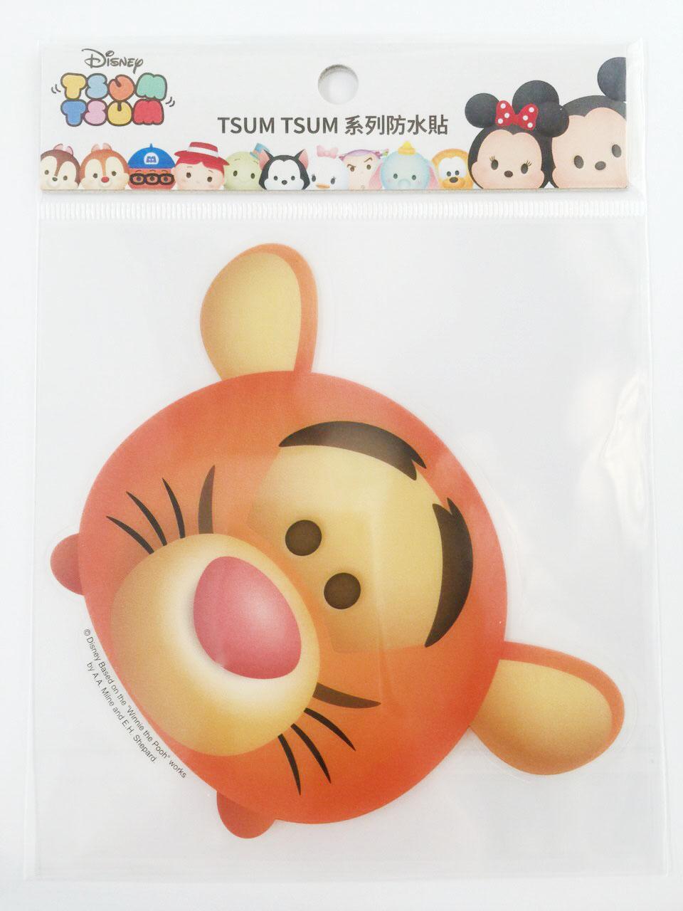 【真愛日本】16011200030  TSUM防水貼紙-跳跳虎 小熊維尼 POOH 迪士尼 裝飾貼紙 PVC 貼紙