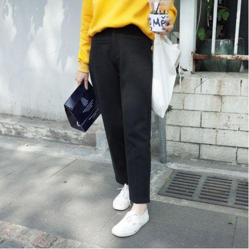 S&M SHOP 三色 顯瘦 保暖 毛呢 西裝褲 (現+預)