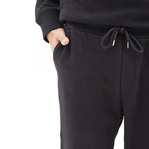 網紗拼接休閒長褲