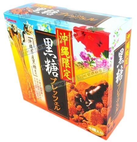 卡巴沖繩黑糖餅乾棒4盒裝200g【4901550499480】
