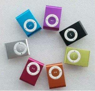 ** 限量特價**蘋果音樂夾子 可插卡式 金屬外殼 MP3 Player 播放器 ipod shuffle 同款 音箱