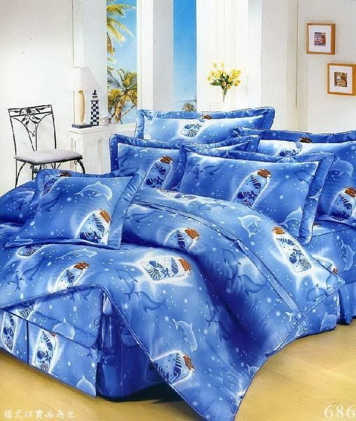 ◎MIT寢具◎台灣製‧海洋瓶中信 ‧100%純棉精梳棉 單人床包/雙人床包/夏罩/床罩/厚包( 任何尺寸皆可訂做)台中
