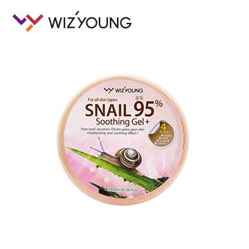 【韓國WIZ'YOUNG】95%蝸牛舒緩凝膠 300ml