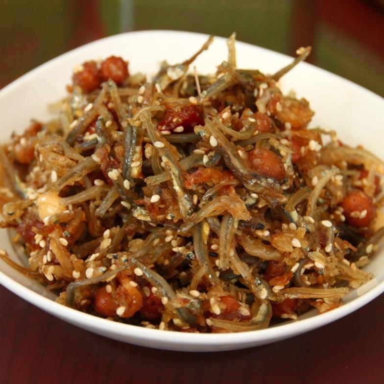 干貝醬小魚乾(大辣)300g