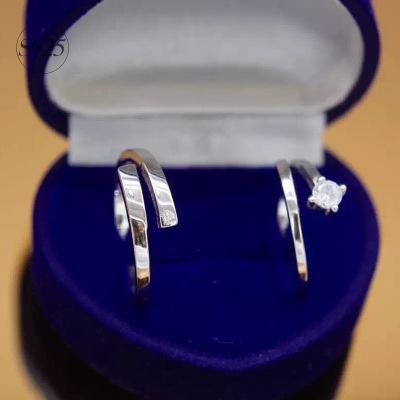 925純銀戒指鑽石開口戒-精緻古典絕代風華七夕情人節禮物女飾品2款73dt154【獨家進口】【米蘭精品】
